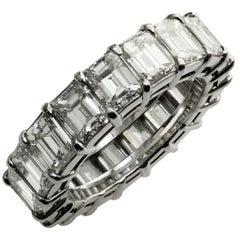 Handmade Diamond Platinum Wedding Band