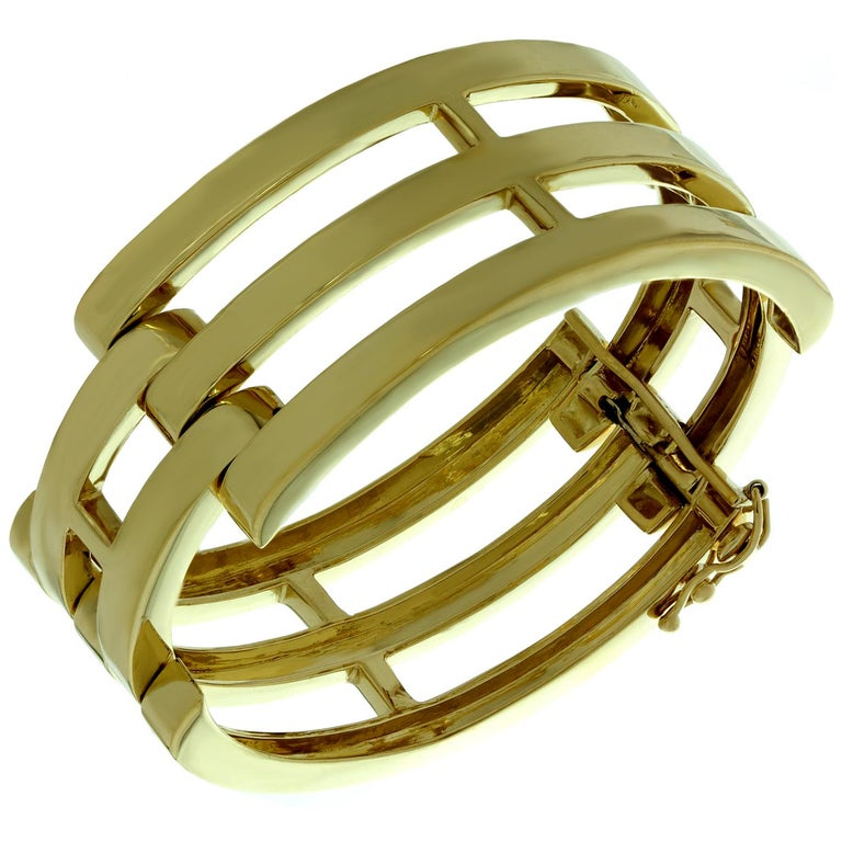 Tiffany & Co. Yellow Gold Bangle Bracelet