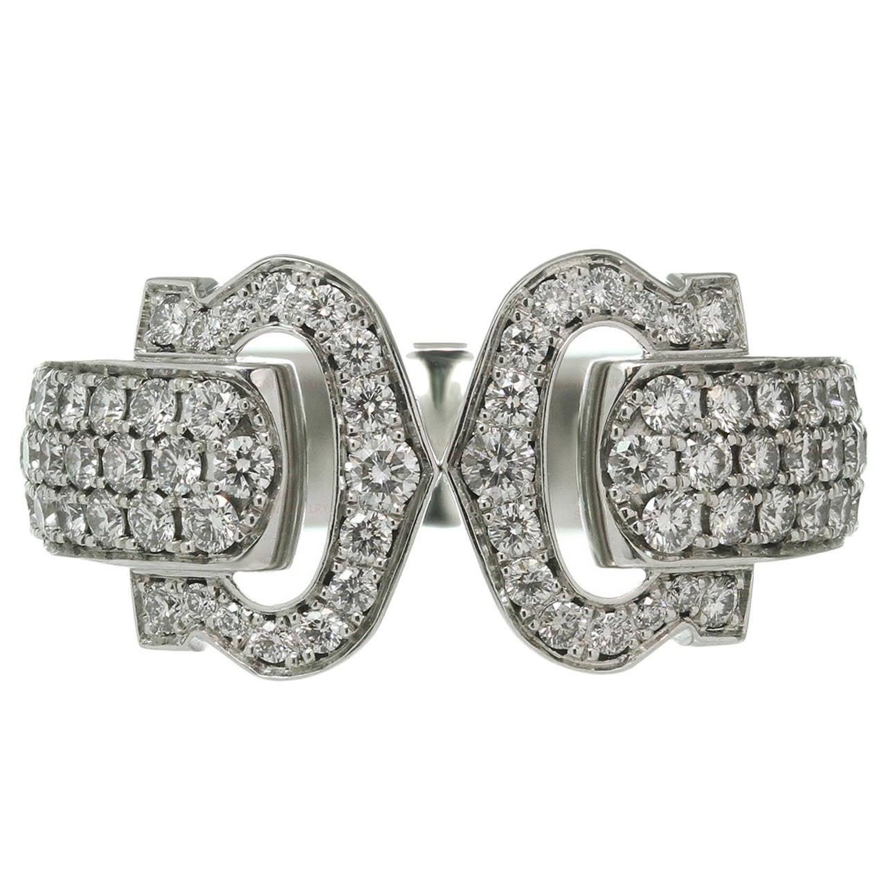 Cartier Double C Decor Ring Price