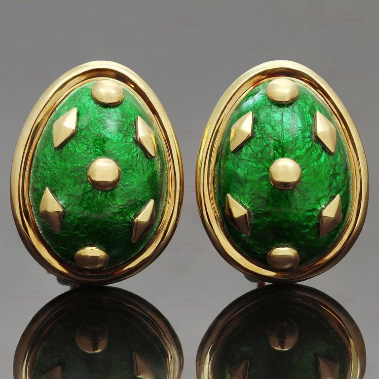 These Iconic Tiffany Earrings Were Designed By Schlumberger For The Dazzling Dot Losange Collection