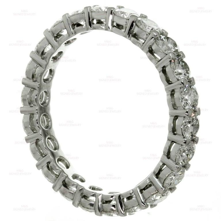 Tiffany & Co. Embrace Diamond Platinum Band Ring 5