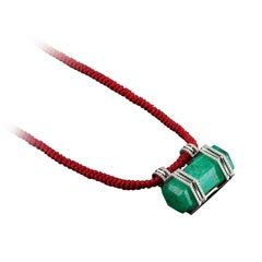 Emerald Rope Necklaces