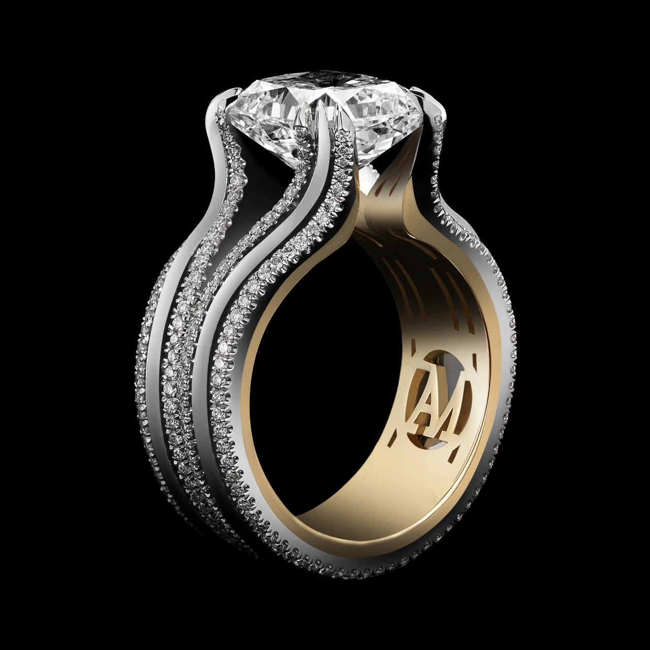 estate light fantastic vimeo on jewelry ring c rings cts fine radiant products carat diamond yellow cut fancy