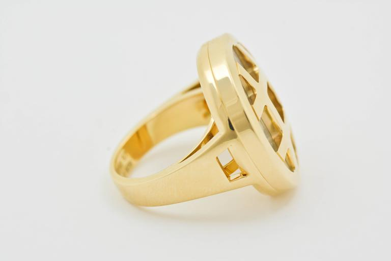 Classic Cartier Gold Pasha Ring 3