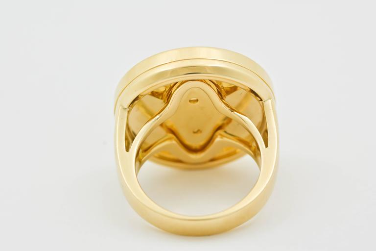 Classic Cartier Gold Pasha Ring 4