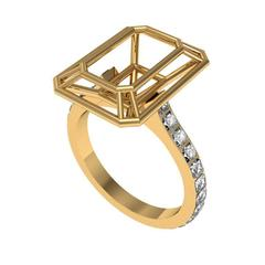 Sayaka Yamamoto & Sparkles Diamond and Gold Ring