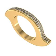Zoe Stork and Sparkles Diamond Gold Ring