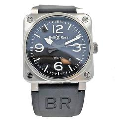 Bell & Ross Stainless Steel Wristwatch Ref BR03-92