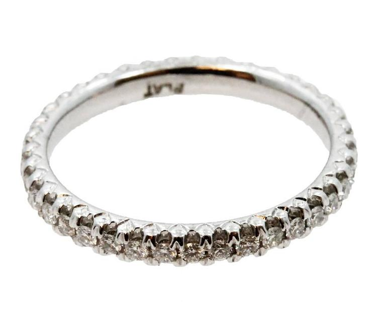 Platinum Diamond Eternity Band  4