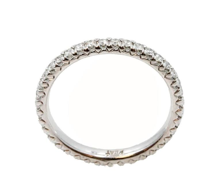Platinum Diamond Eternity Band  2