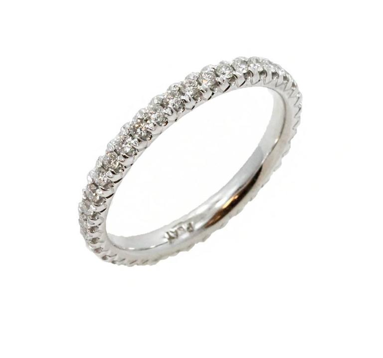 Platinum Diamond Eternity Band  3