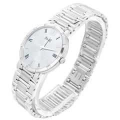 Piaget White Gold Dancer Wristwatch Ref 84023
