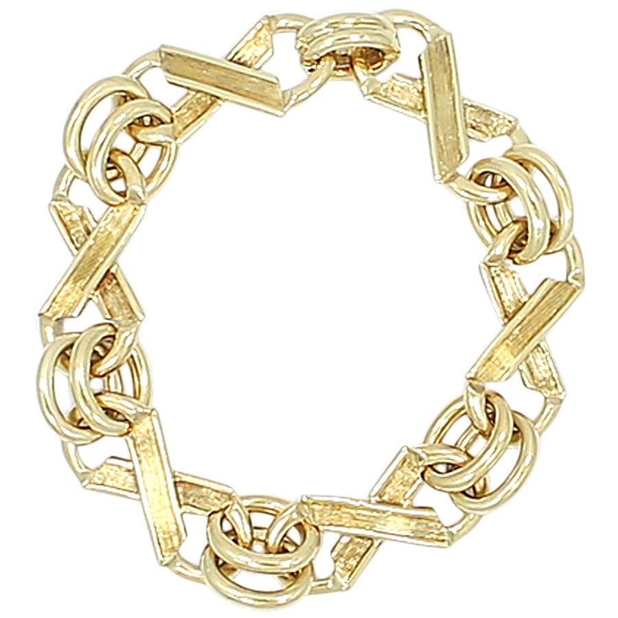 Tiffany & Co. Jean Schlumberger Yellow Gold Bracelet