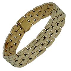 Cartier Maillon Panthere Gold Link Bracelet