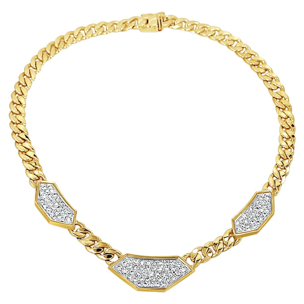 Hammerman Brothers Necklace with Diamonds