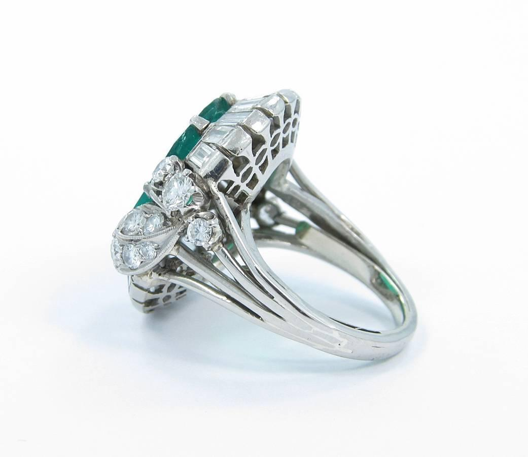 5 carat emerald gold ring for sale at 1stdibs