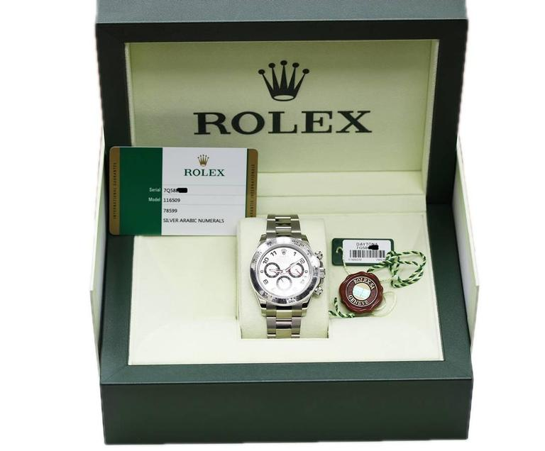 Rolex Daytona 116509 All Gold, Unworn with Box, Books, Papers For Sale 3