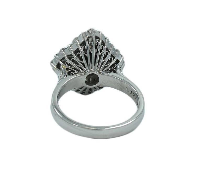black opal platinum ring for sale at 1stdibs