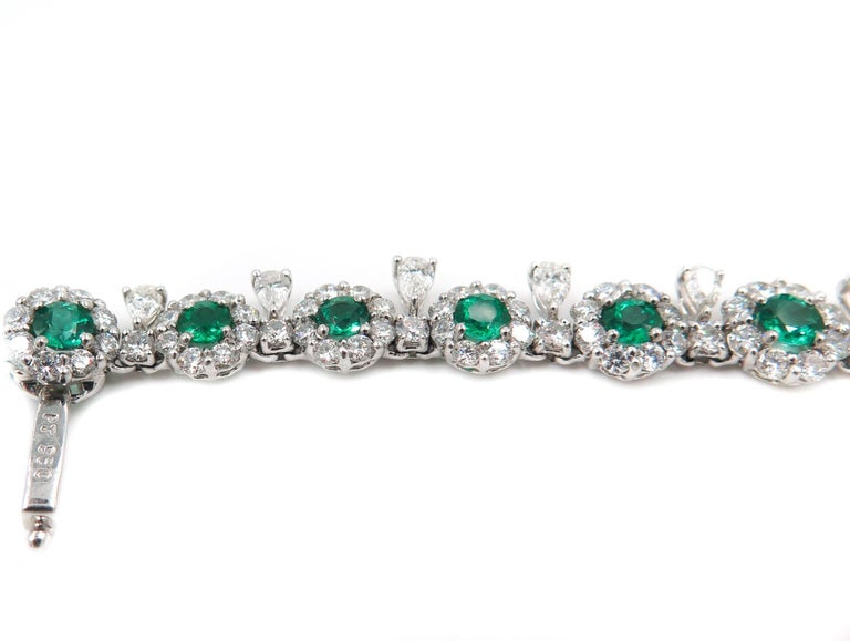Emerald and Diamond Necklace 3