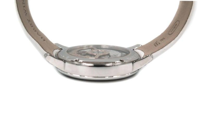 Harry Winston Ladies White Gold Midnight Diamond Stalactites Auto Wristwatch For Sale 1