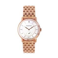 Audemars Piguet Jules Audemars Pink Gold Manual Wristwatch