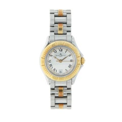 Baume & Mercier Malibu Stainless Steel and Yellow Gold Lady's Watch