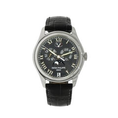 Patek Philippe Platinum Annual Calendar self-winding Wristwatch Ref 5056P