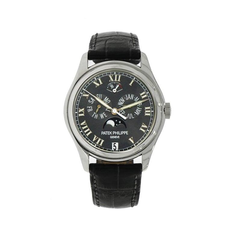 Patek Philippe Platinum Annual Calendar self-winding Wristwatch Ref 5056P