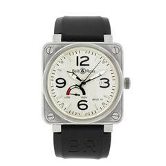 Bell & Ross Stainless Steel Power Reserve self-winding Wristwatch