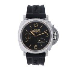 Panerai Luminor Stainless Steel Acciado manual Wristwatch, 1950