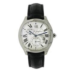 Cartier Stainless Steel Drive de Cartier GMT self-winding Wristwatch