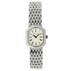 Tiffany & Co. Ladies White Gold Quartz Wristwatch