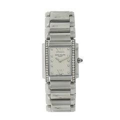 Patek Philippe Ladies Stainless Steel Twenty 4 quartz Wristwatch