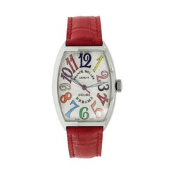 Franck Muller Stainless Steel Color Dreams self-winding Wristwatch