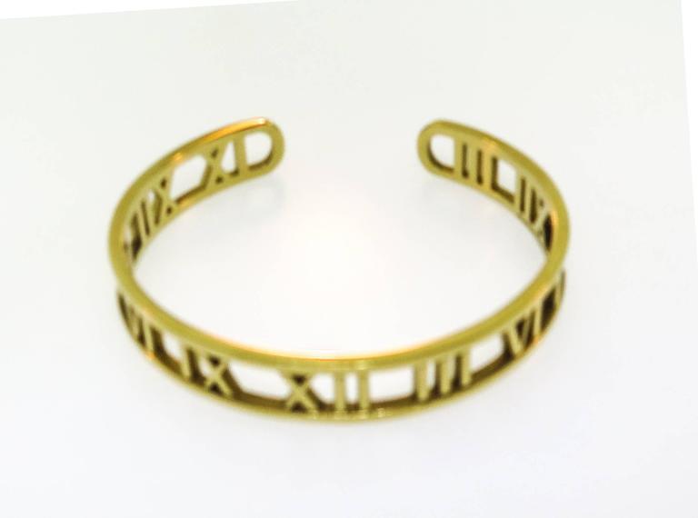 Tiffany & co. gold Atlas Cuff Bracelet 3