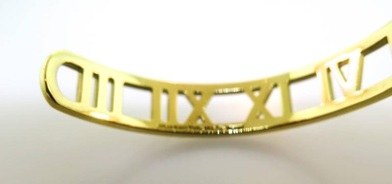 Tiffany & co. gold Atlas Cuff Bracelet 4