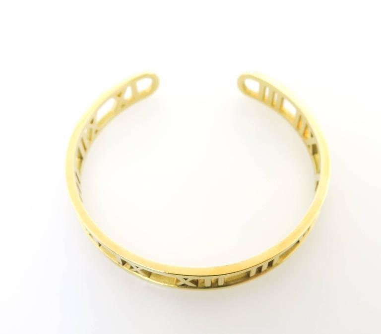 Tiffany & co. gold Atlas Cuff Bracelet 2
