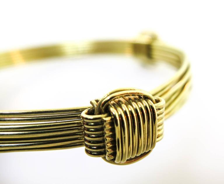 Elephant hair bracelet with gold for men - photo#16