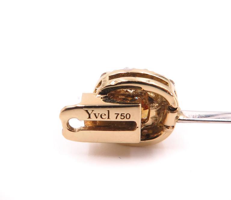 Modern Yvel Natural Colored Diamond Bracelet For Sale