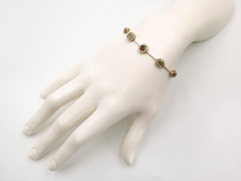 Women's Yvel Natural Colored Diamond Bracelet For Sale