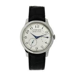 F.P. Journe Platinum Chronometre Souverain Manual Wristwatch