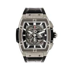 Hublot Titanium Ceramic Spirit of Big Bang self-winding Wristwatch.