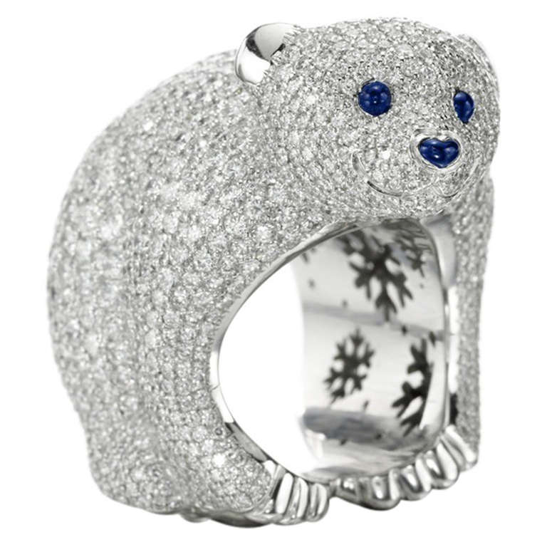 Chopard 150th anniversary animal world collection ring at for Chopard animal world jewelry collection