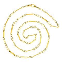 Fabulous Long Pomellato Gold Necklace