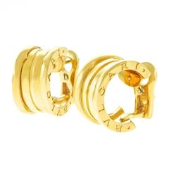 Bulgari Zero Rose Gold Earrings