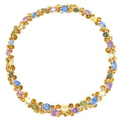 Emil Meister Sublime Sapphire and Diamond Necklace