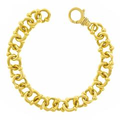 Diana Kim England Gold Link Bracelet