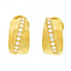 Tannler Diamond and Gold Earrings
