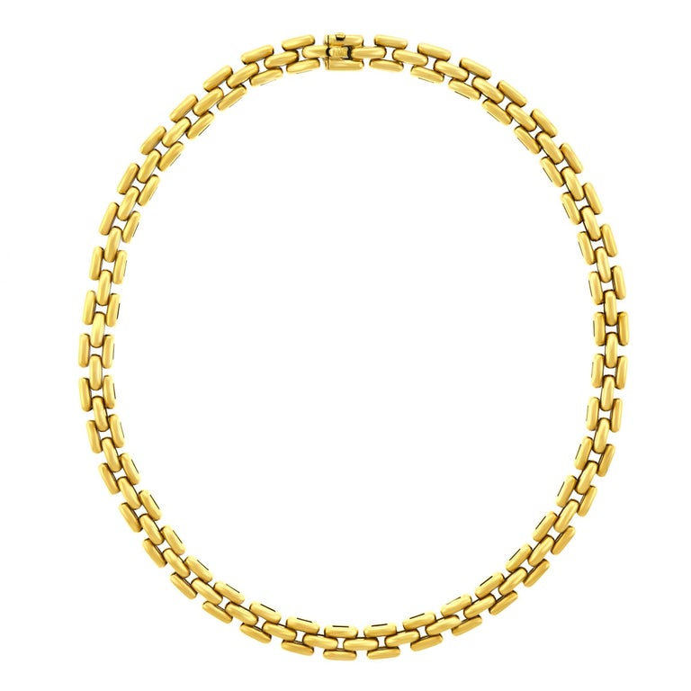 Cartier Panther Link Necklace
