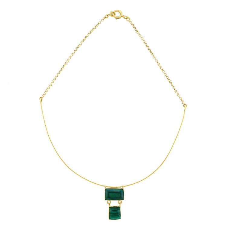 Modernist French Gold Necklace
